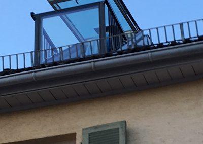 Velux Kassettenfenstereinbau
